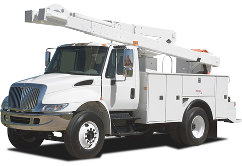 Image of a utility truck
