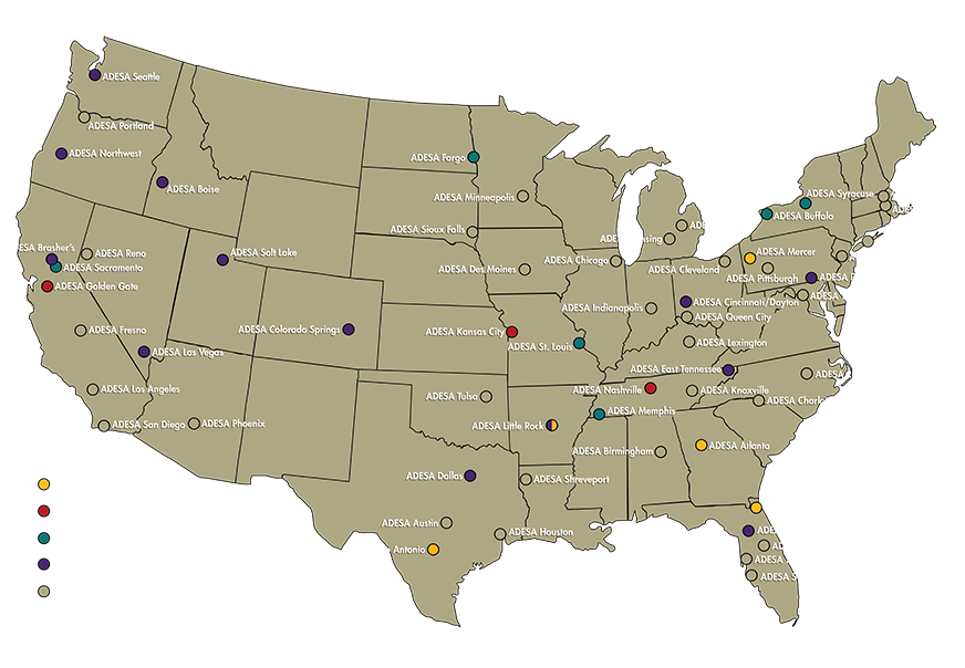 Rv Dealers Map Locations In The Us Autos Post